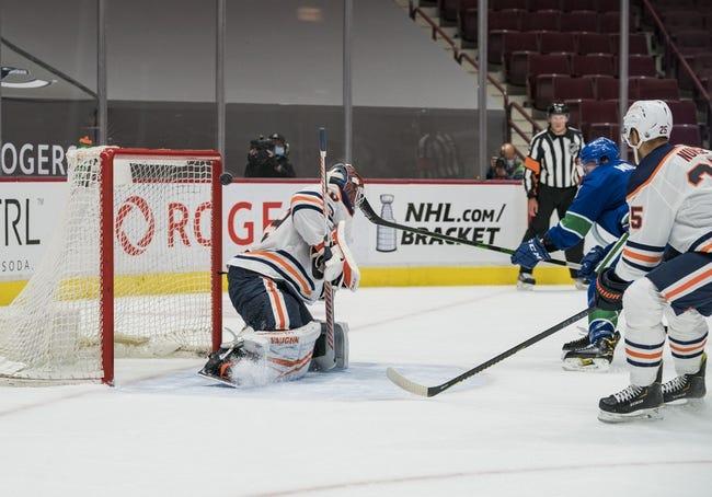 Vancouver Canucks vs Edmonton Oilers NHL Picks, Odds, Predictions 5/4/21