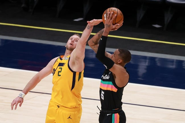 Utah Jazz vs San Antonio Spurs NBA Picks, Odds, Predictions 5/5/21