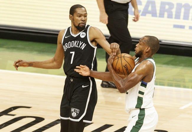Milwaukee Bucks at Brooklyn Nets - 6/5/21 NBA Picks and Prediction