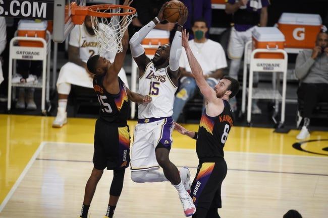 Los Angeles Lakers at Phoenix Suns - 5/23/21 NBA Picks and Prediction
