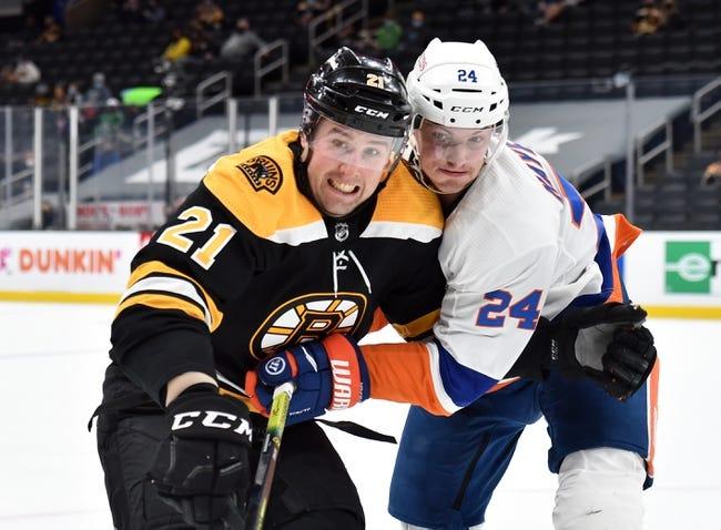 New York Islanders at Boston Bruins - 5/29/21 NHL Picks and Prediction