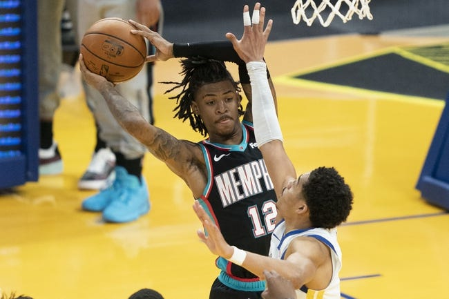 Memphis Grizzlies at Golden State Warriors - 5/21/21 NBA Picks and Prediction
