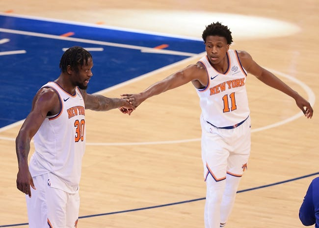Atlanta Hawks at New York Knicks - 5/23/21 NBA Picks and Prediction