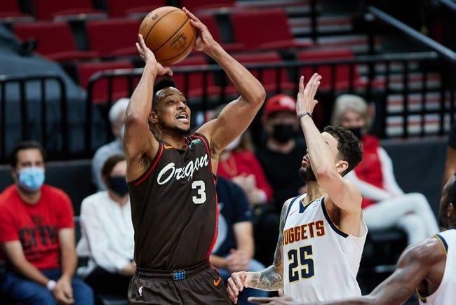 Portland Trail Blazers at Denver Nuggets - 5/22/21 NBA Picks and Prediction
