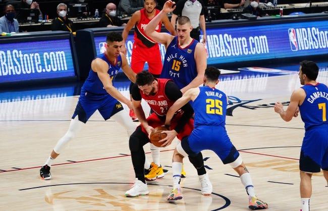 Portland Trail Blazers at Denver Nuggets - 5/24/21 NBA Picks and Prediction