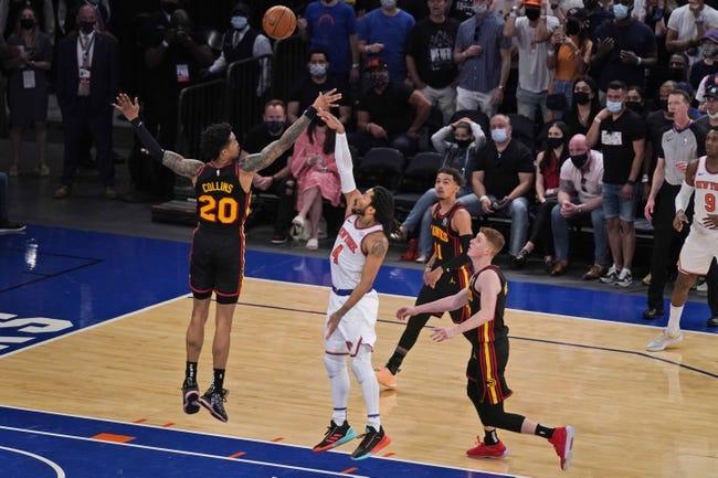 Atlanta Hawks at New York Knicks - 5/26/21 NBA Picks and Prediction