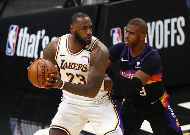Los Angeles Lakers at Phoenix Suns - 6/1/21 NBA Picks and Predictions