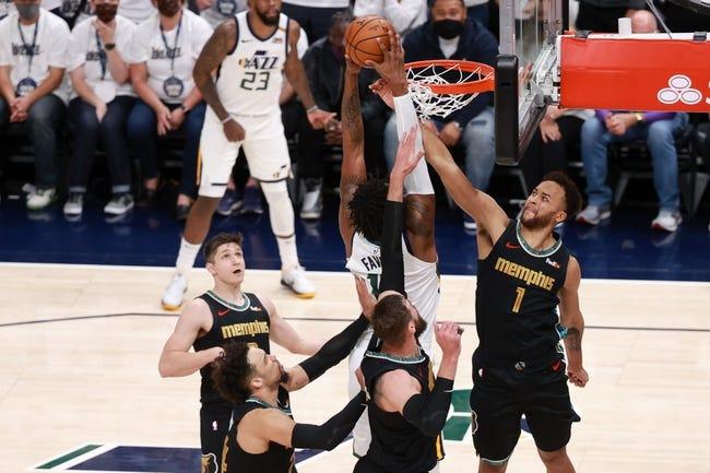 Memphis Grizzlies at Utah Jazz - 5/26/21 NBA Picks and Prediction
