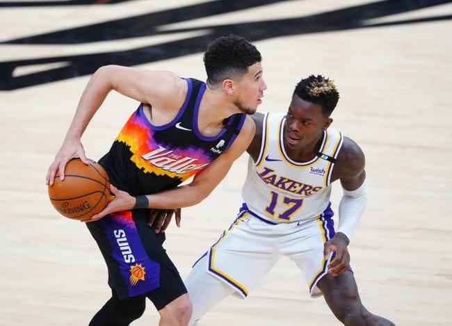 Los Angeles Lakers at Phoenix Suns - 5/25/21 NBA Picks and Prediction