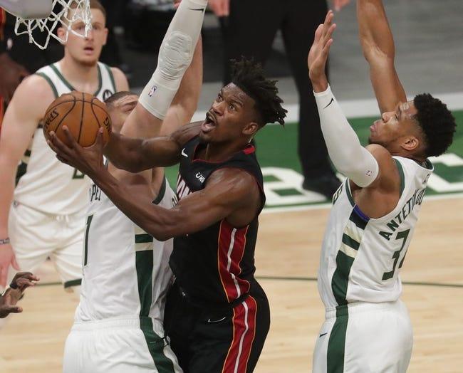 Milwaukee Bucks at Miami Heat - 5/27/21 NBA Picks and Prediction