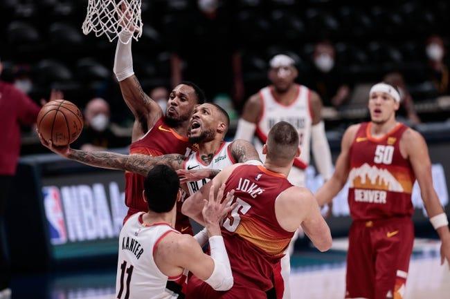 Denver Nuggets at Portland Trail Blazers - 5/27/21 NBA Picks and Prediction