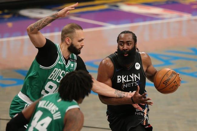 Brooklyn Nets at Boston Celtics - 5/28/21 NBA Picks and Prediction