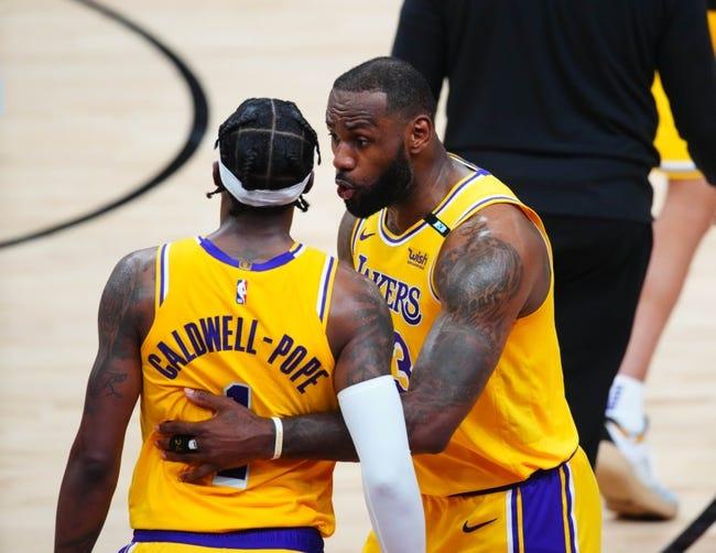Phoenix Suns at Los Angeles Lakers - 5/27/21 NBA Picks and Prediction