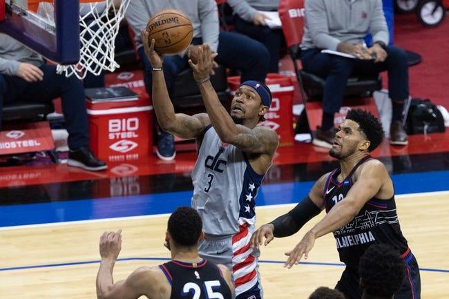 Philadelphia 76ers at Washington Wizards - 5/29/21 NBA Picks and Prediction