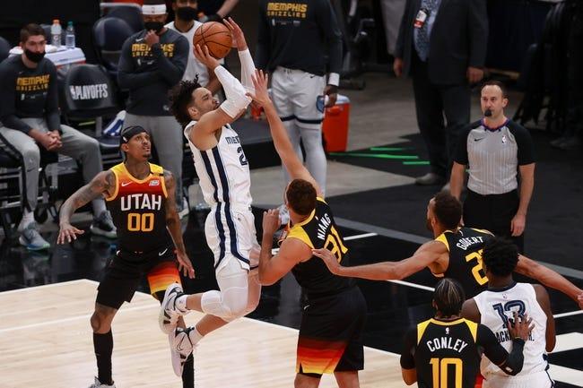 Utah Jazz at Memphis Grizzlies - 5/29/21 NBA Picks and Prediction