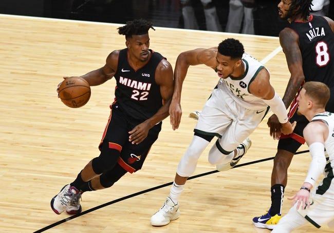 Milwaukee Bucks at Miami Heat - 5/29/21 NBA Picks and Prediction