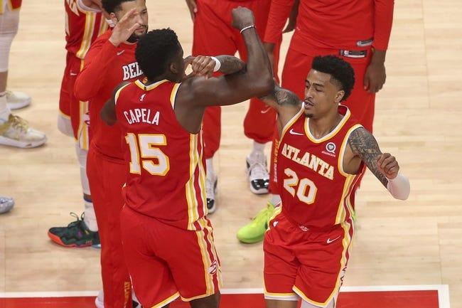 Atlanta Hawks at New York Knicks - 6/2/21 NBA Picks and Prediction