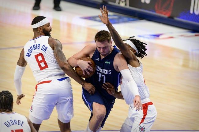 Los Angeles Clippers at Dallas Mavericks - 5/30/21 NBA Picks and Prediction