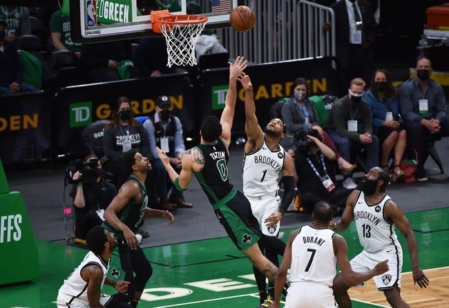 Brooklyn Nets at Boston Celtics - 5/30/21 NBA Picks and Prediction
