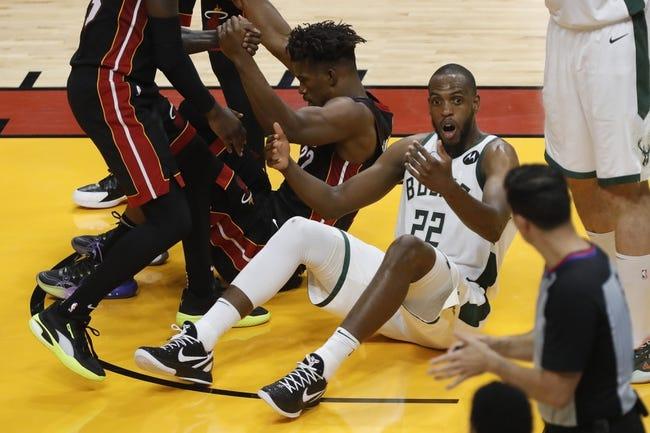 Milwaukee Bucks at Miami Heat - 10/21/21 NBA Picks and Prediction