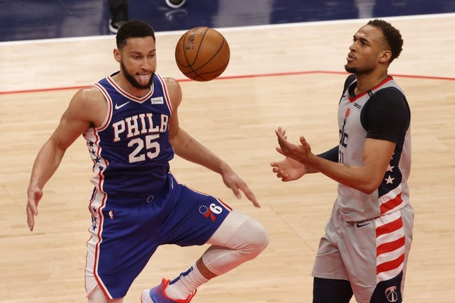 Philadelphia 76ers at Washington Wizards - 5/31/21 NBA Picks and Prediction
