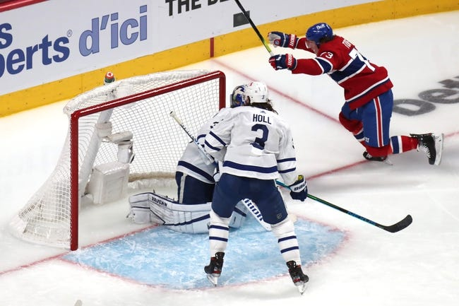 Montreal Canadiens at Toronto Maple Leafs - 5/31/21 NHL Picks and Prediction
