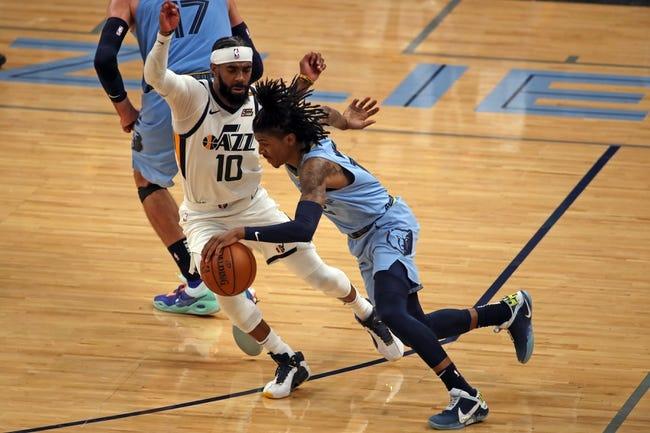 Utah Jazz at Memphis Grizzlies - 5/31/21 NBA Picks and Prediction