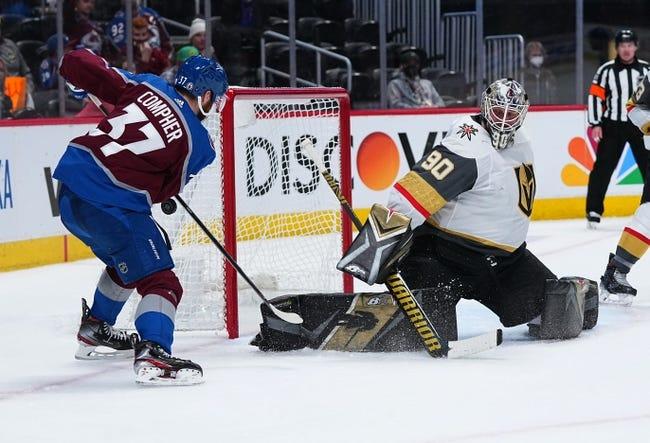 Vegas Golden Knights at Colorado Avalanche - 6/2/21 NHL Picks and Prediction