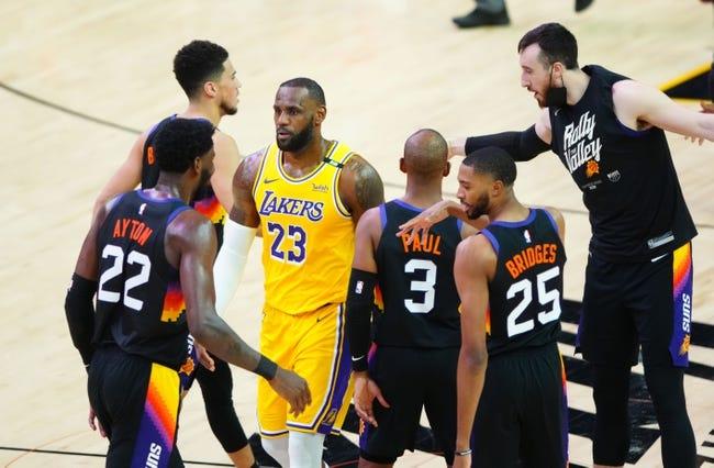 Phoenix Suns at Los Angeles Lakers - 6/3/21 NBA Picks and Prediction
