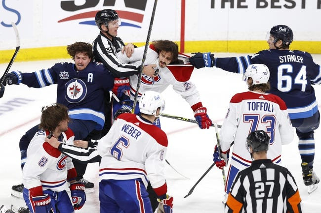 Montreal Canadiens at Winnipeg Jets - 6/4/21 NHL Picks and Prediction