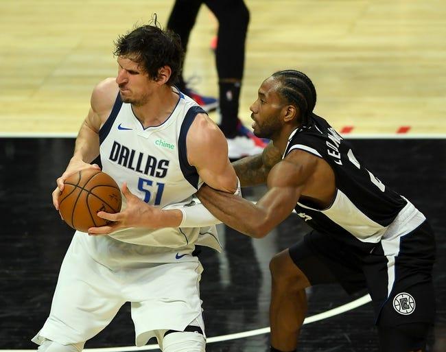 Los Angeles Clippers at Dallas Mavericks - 6/4/21 NBA Picks and Prediction