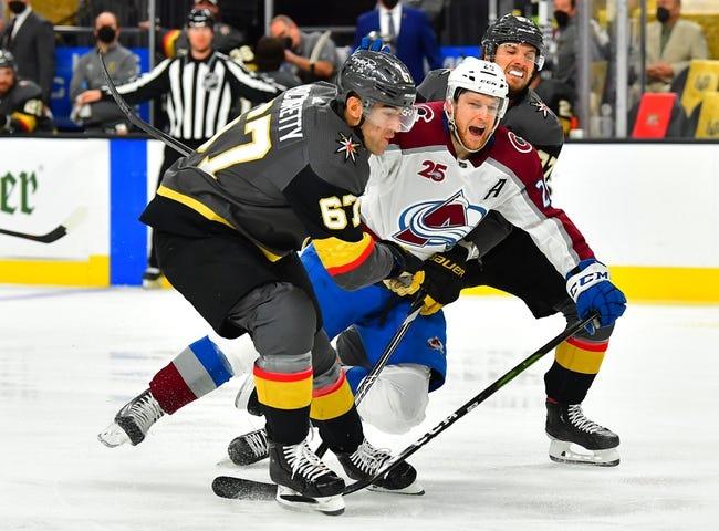 Colorado Avalanche at Vegas Golden Knights - 6/6/21 NHL Picks and Prediction