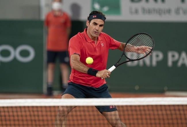 Adrian Mannarino vs Roger Federer Wimbledon Tennis Picks and Predictions 6/29/21