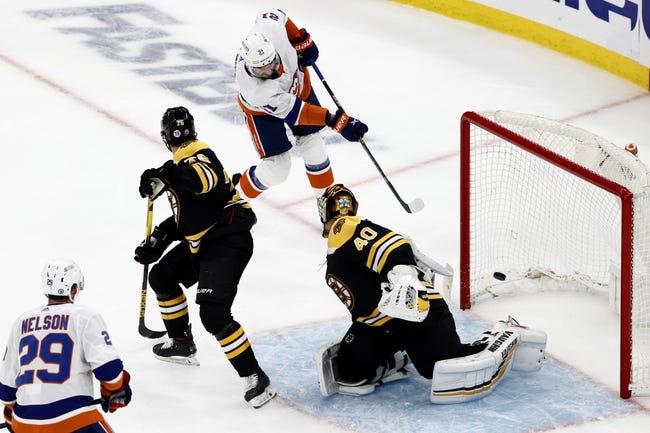 Boston Bruins at New York Islanders - 6/9/21 NHL Picks and Prediction