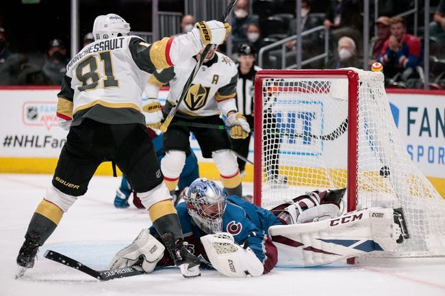 Colorado Avalanche at Vegas Golden Knights - 6/10/21 NHL Picks and Prediction