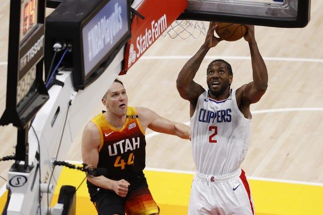Los Angeles Clippers at Utah Jazz - 6/10/21 NBA Picks and Prediction