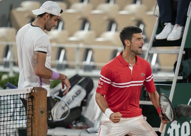 Novak Djokovic vs Matteo Berrettini Wimbledon Tennis Picks and Predictions 7/11/21