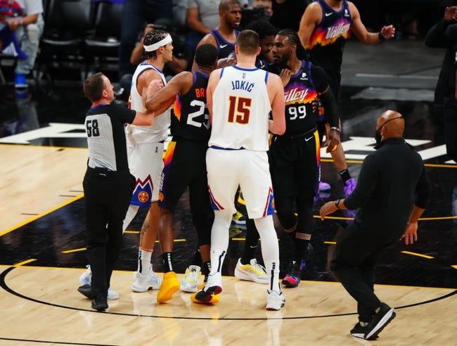 Phoenix Suns at Denver Nuggets - 6/11/21 NBA Picks and Prediction
