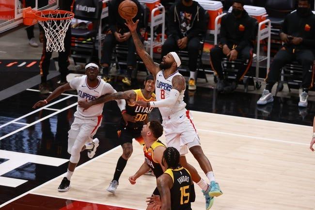 Utah Jazz at Los Angeles Clippers - 6/12/21 NBA Picks and Prediction