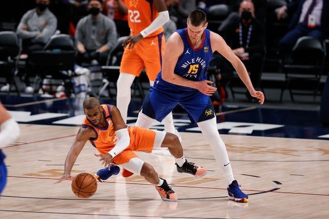 Phoenix Suns at Denver Nuggets - 6/13/21 NBA Picks and Prediction