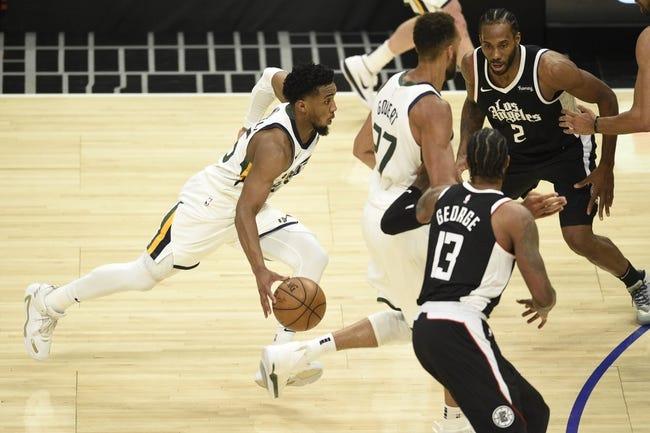 Utah Jazz at Los Angeles Clippers - 6/14/21 NBA Picks and Prediction