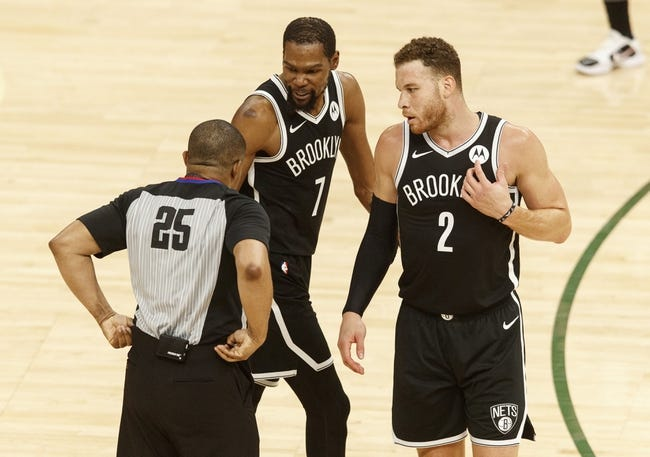 Best NBA Player Props Brooklyn Nets at Milwaukee Bucks 6/17/21