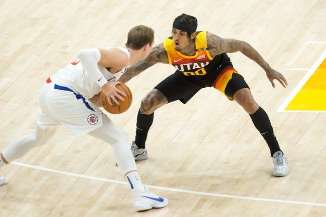 Utah Jazz at Los Angeles Clippers - 6/18/21 NBA Picks and Prediction
