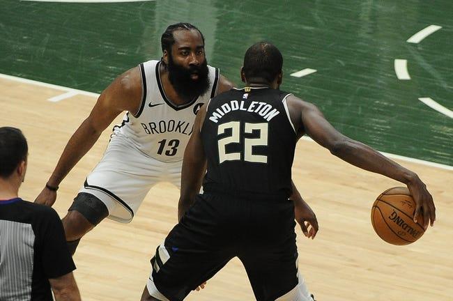 Milwaukee Bucks at Brooklyn Nets - 6/19/21 NBA Picks and Prediction