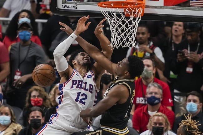 Atlanta Hawks at Philadelphia 76ers - 6/20/21 NBA Picks and Prediction