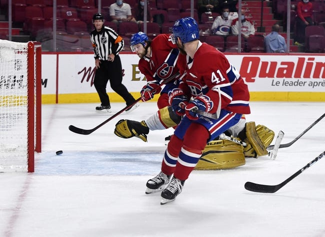 Vegas Golden Knights at Montreal Canadiens 6/20/21 NHL Picks and Predictions