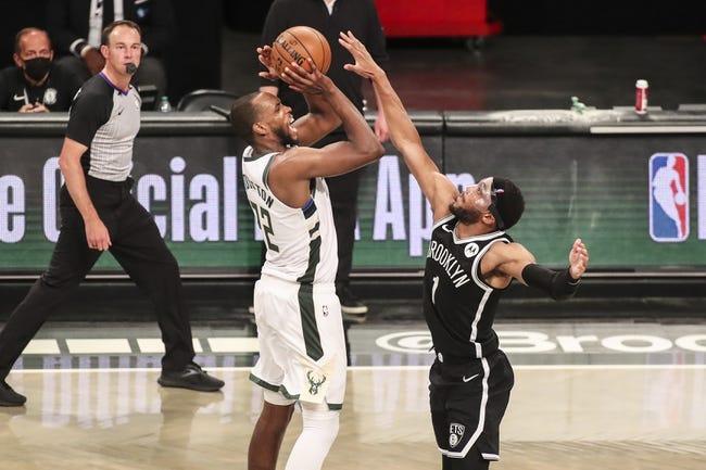 Atlanta Hawks at Milwaukee Bucks - 6/23/21 NBA Picks and Prediction