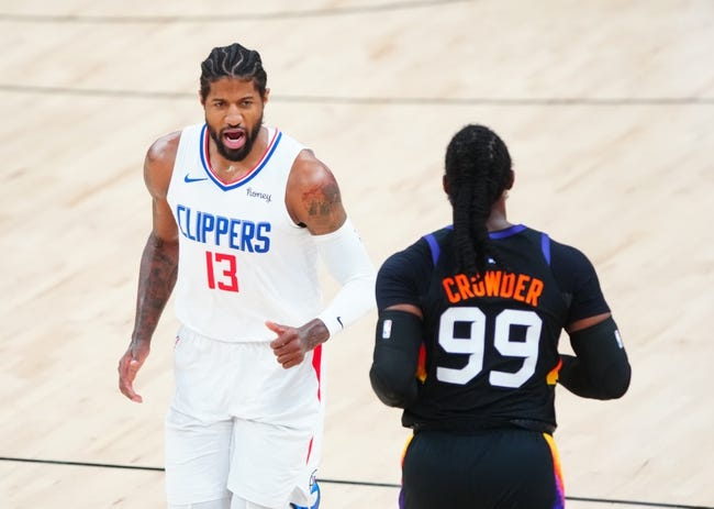 Best NBA Player Props Los Angeles Clippers at Phoenix Suns  6/22/21