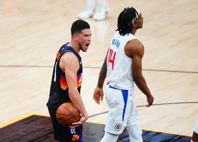 Los Angeles Clippers at Phoenix Suns - 6/22/21 NBA Picks and Prediction