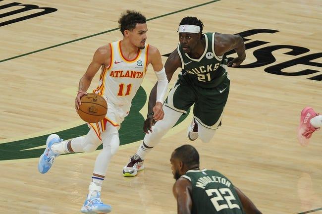 Atlanta Hawks at Milwaukee Bucks - 6/25/21 NBA Picks and Prediction